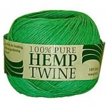 100g Spool of 20lb Green Hemp Twine